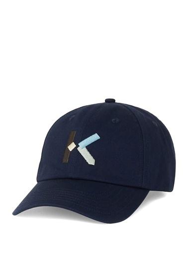 Kenzo Kenzo Kenzo K  Logolu Erkek Şapka 101567373 Lacivert
